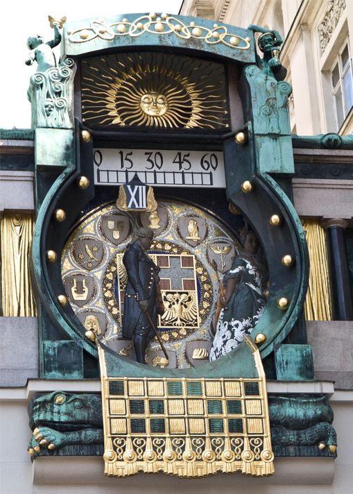 Vienna-Ankeruhr-Clock