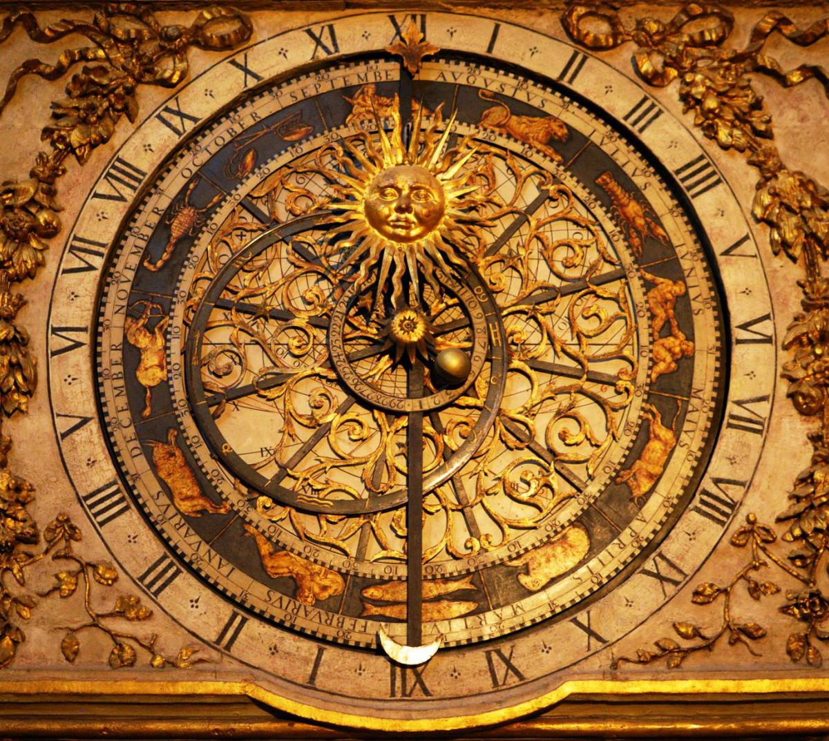 Astronomical clock Lyon (1)
