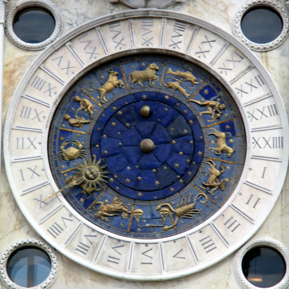 St Mark's Clock is the clock housed in the Clocktower on the Piazza San Marco in Venice, Italy, adjoining the Procuratie Vecchie