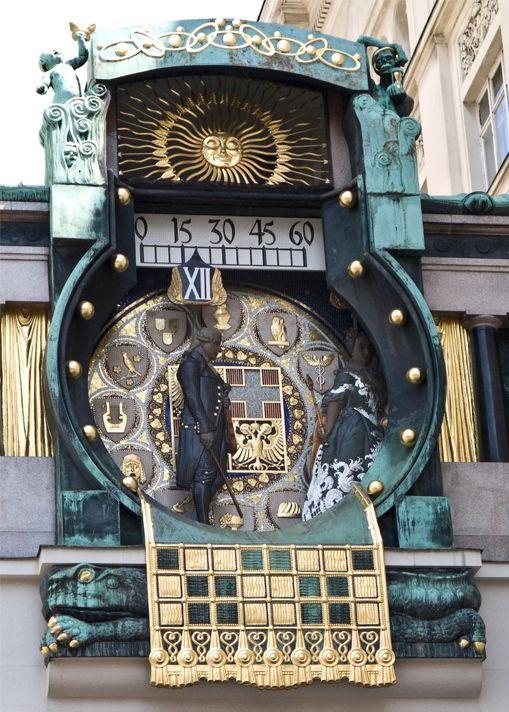 Vienna Ankeruhr Clock